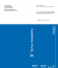 La scelta del sistema ERP – Microsoft Dynamics NAV 2013 R2